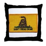 Don't Tread on Me! Throw Pillow