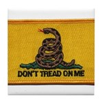 Don't Tread on Me! Tile Coaster