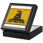 Don't Tread on Me! Keepsake Box