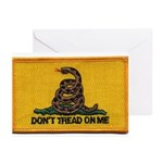 Don't Tread on Me! Greeting Cards (Pk of 20)