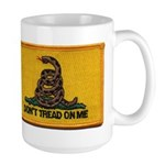 Don't Tread on Me! Large Mug