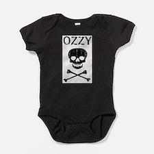 Funny Skull and crossbones Baby Bodysuit