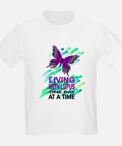 Lupus Awareness Ash Grey T-Shirt