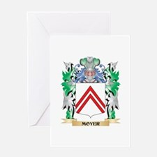 Moyer Coat of Arms - Family Crest Greeting Cards
