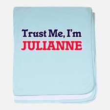 Trust Me, I'm Julianne baby blanket