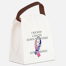 Thyroid Cancer Bully Canvas Lunch Bag