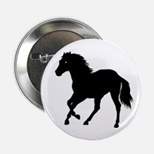 """Go West Go Mustang 2.25"""" Button (100 pack)"""
