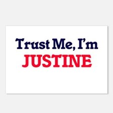 Trust Me, I'm Justine Postcards (Package of 8)
