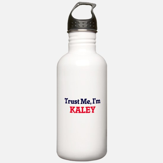 Trust Me, I'm Kaley Sports Water Bottle