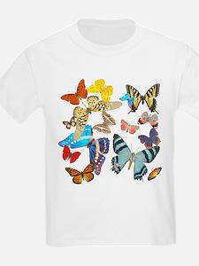 Beautiful Butterflies Kids T-Shirt