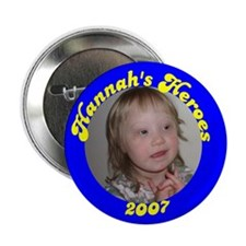 "Hannah's Heroes 2.25"" Button (10 pack)"