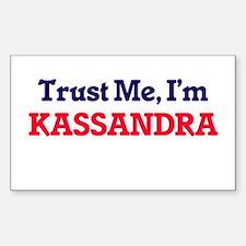 Trust Me, I'm Kassandra Decal