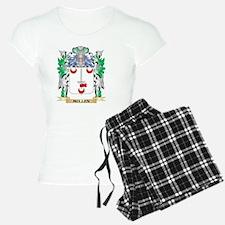 Mullen Coat of Arms - Famil Pajamas