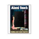 Miami Beach Art Deco Railway Print Picture Frame