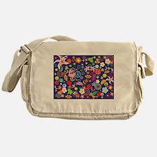 Boho floral Messenger Bag