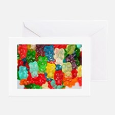 GUMMI BEARS Greeting Cards