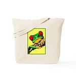 Abstract Fantasy Art Deco Tree Frog Tote Bag