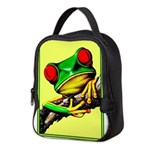 Abstract Fantasy Art Deco Tree Frog Neoprene Lunch