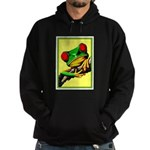 Abstract Fantasy Art Deco Tree Frog Hoodie
