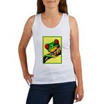 Abstract Fantasy Art Deco Tree Frog Tank Top
