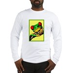 Abstract Fantasy Art Deco Tree Frog Long Sleeve T-