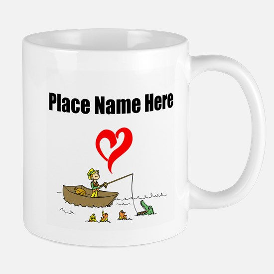 Loves Fishing Mugs