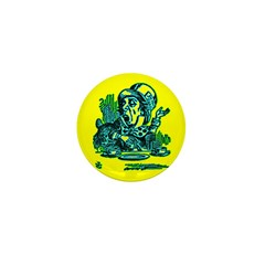 Mad Hatter Speaking Mini Button (10 pack)