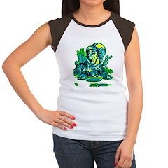 Mad Hatter Speaking Women's Cap Sleeve T-Shirt