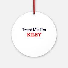 Trust Me, I'm Kiley Round Ornament