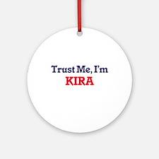 Trust Me, I'm Kira Round Ornament