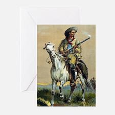 Buffalo Bill Vintage cowboy Greeting Cards