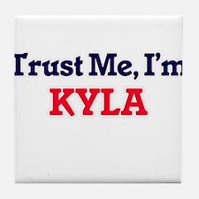 Trust Me, I'm Kyla Tile Coaster