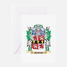Murphy Coat of Arms - Family Crest Greeting Cards