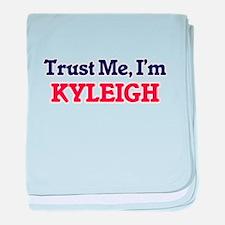 Trust Me, I'm Kyleigh baby blanket