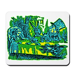 Alice at Tea Party Mousepad