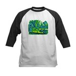 Alice at Tea Party Kids Baseball Jersey