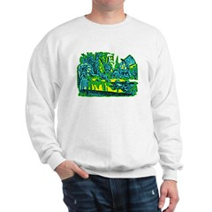 Alice at Tea Party Sweatshirt