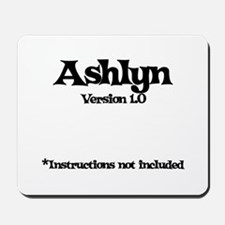 Ashlyn Version 1.0 Mousepad