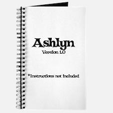 Ashlyn Version 1.0 Journal