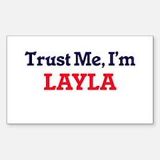 Trust Me, I'm Layla Decal