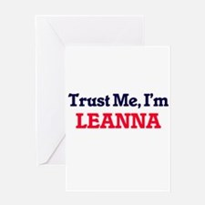 Trust Me, I'm Leanna Greeting Cards