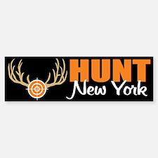 Hunt New York Bumper Bumper Bumper Sticker