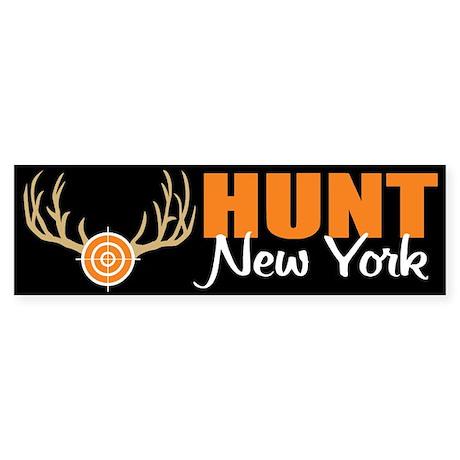 Hunt New York Bumper Sticker