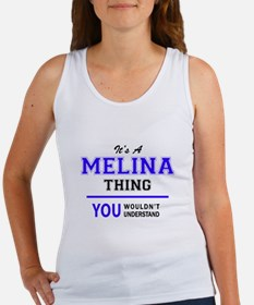 It's MELINA thing, you wouldn't understan Tank Top