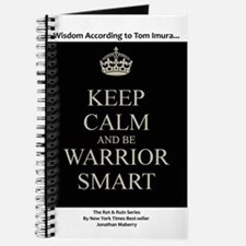 Keep Calm And Be Warrior Smart Journal