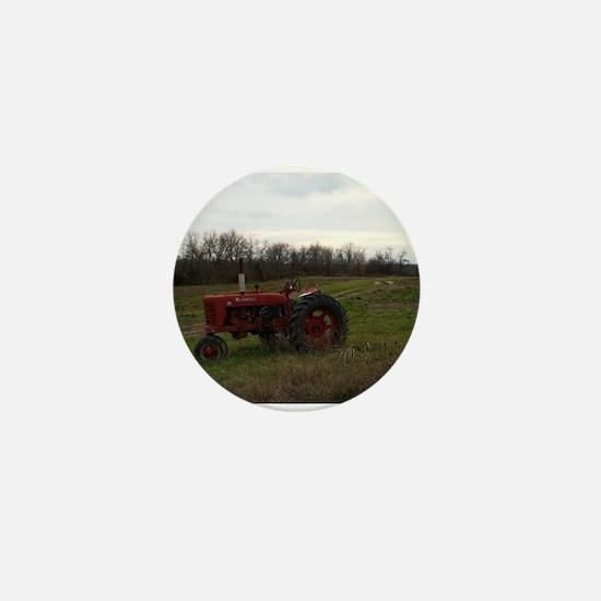 Funny Tractors Mini Button