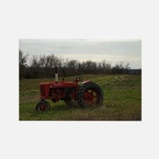 Cute Tractor Rectangle Magnet (100 pack)
