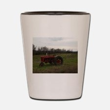 Unique Tractor Shot Glass
