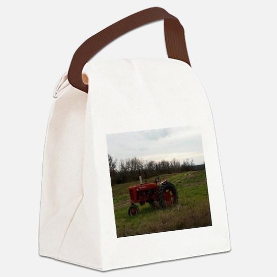 Tractors Canvas Lunch Bag
