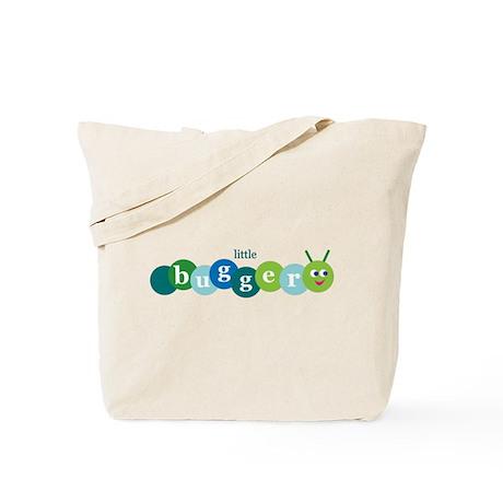 Little Bugger Tote Bag blue/green